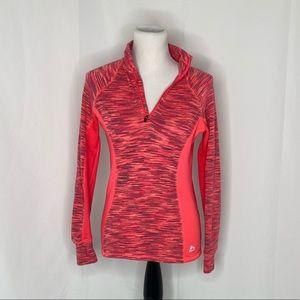 Women's sz small Reebok 1/4 zip long sleeve shirt